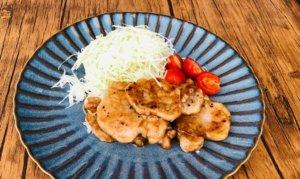 豚ヒレ肉の生姜焼き